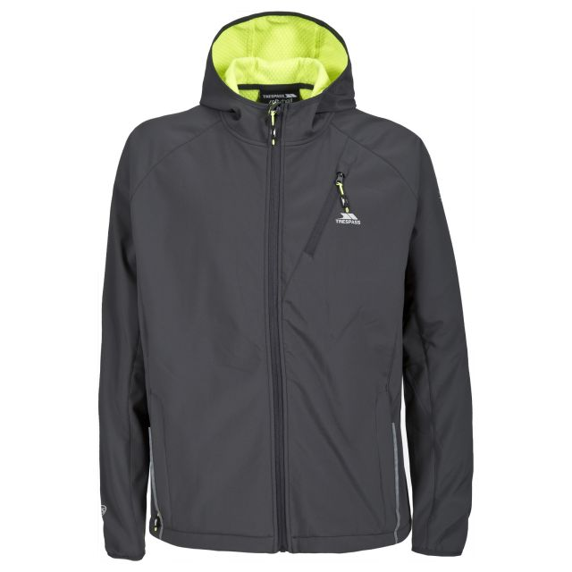 Bathurst Mens Softshell Jacket in Grey