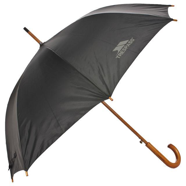 Wooden Golf Umbrella in Black