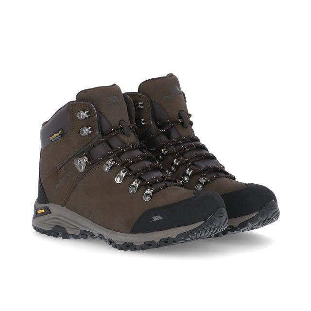 Baylin Women's Waterproof Vibram Walking Boots in Brown