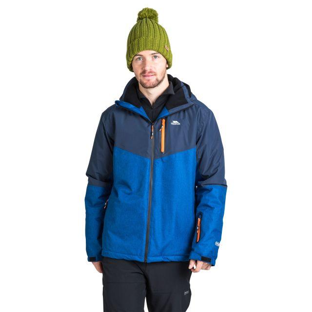 Bear Men's Padded Waterproof Ski Jacket in Navy