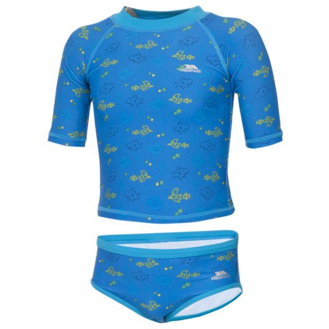 BEBE Babies Swim Set in Blue