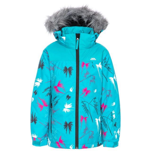 Beebear Kids' Printed Ski Jacket in Blue