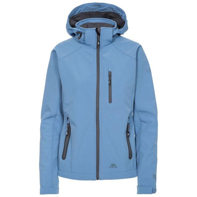 Bela II Women's Softshell Jacket in Blue