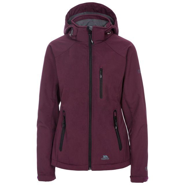Bela II Women's Softshell Jacket in Purple