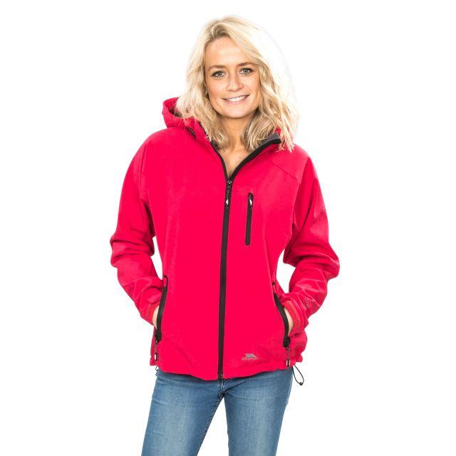 Bela II Women's Softshell Jacket in Light Pink