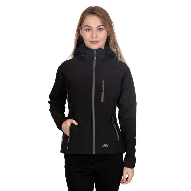 Bela II Women's Softshell Jacket in Black