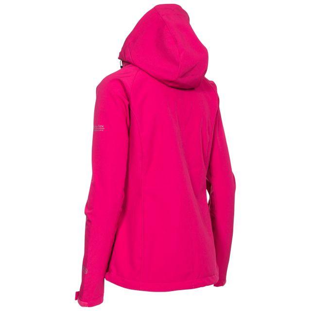 Bela II Women's Softshell Jacket in Dark Pink