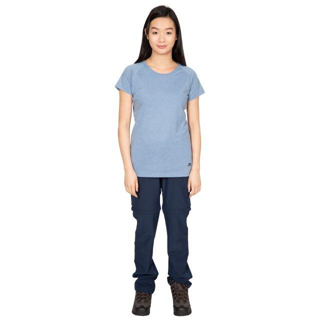 Benita Women's Crew Neck T-Shirt in Light Blue