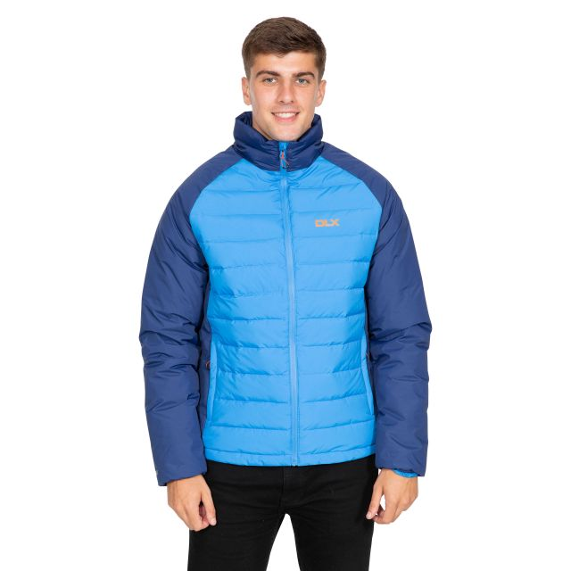 Benko Men's DLX Down Jacket in Blue