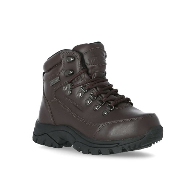 Bergenz Youth Waterproof Walking Boots in Brown