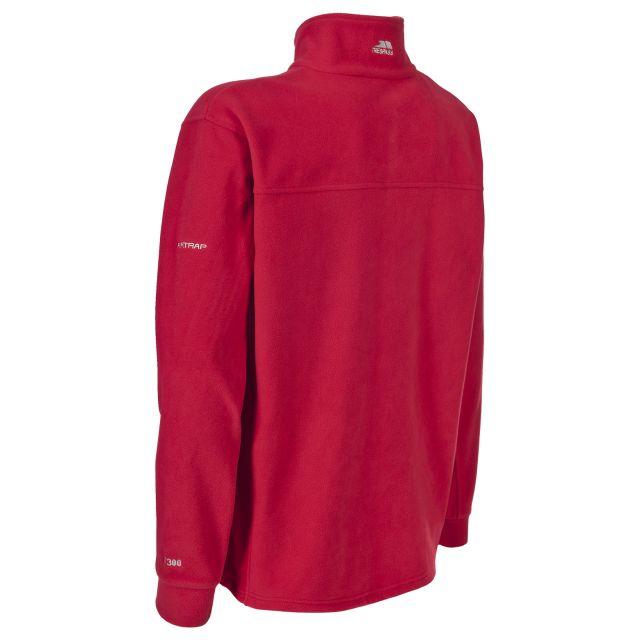 Bernal Men's Sueded Fleece Jacket in Red