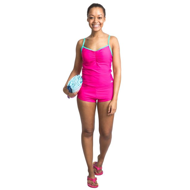 Darcie Women's Tankini Top in Pink
