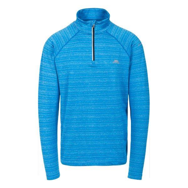 Birney Men's Quick Dry Active Top in Blue