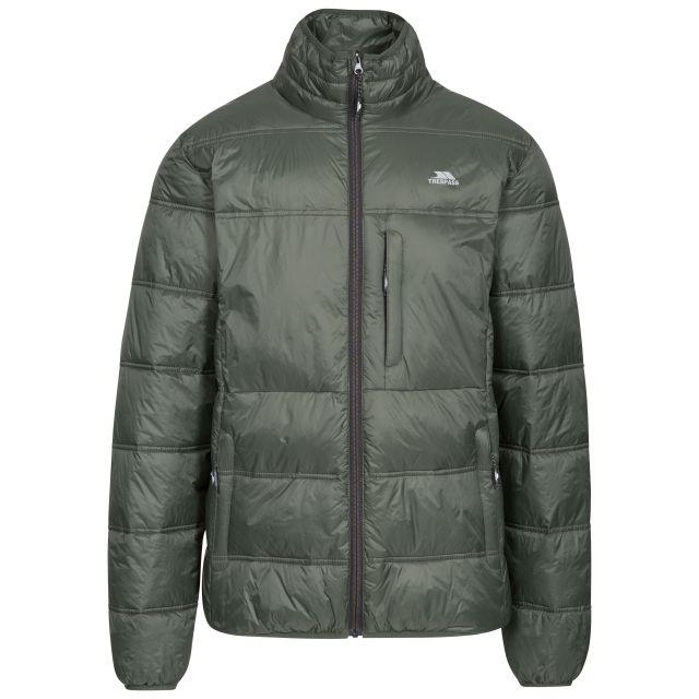 Bismarck Men's Padded Casual Jacket in Khaki