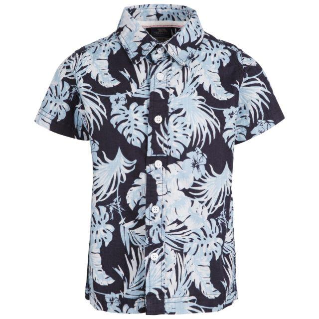 Trespass Kids' Short Sleeved Shirt Bizaar Navy