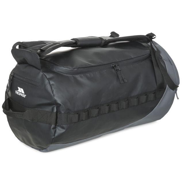 Trespass 40L Water Resistant Duffle Bag in Black Blackfriar
