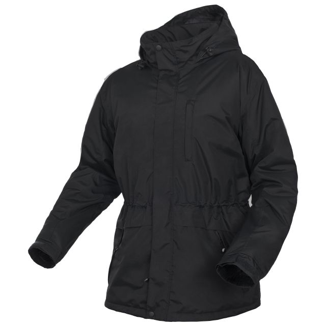 Blanca Men's Padded Waterproof Jacket in Black