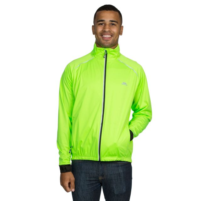 Blocker Men's Waterproof Active Jacket in Neon Green