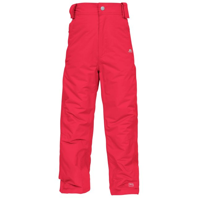 Bombinate Kids' High Waisted Salopettes in Red