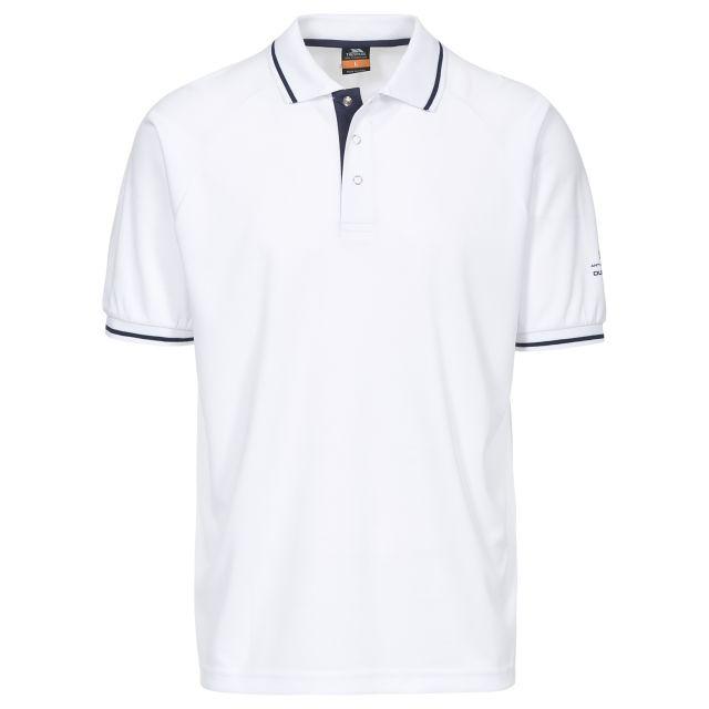 Bonington Men's Quick Dry Polo Shirt in White