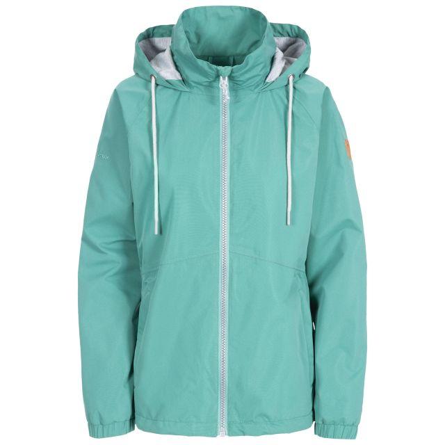 Trespass Womens Waterproof Jacket Boom in Green