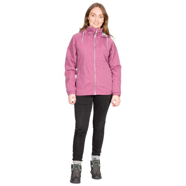 Trespass Womens Waterproof Jacket Boom in Purple