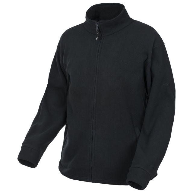 Boyero Men's Fleece Jacket in Black