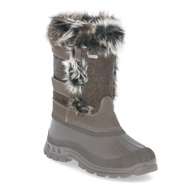 Brace Women's Waterproof Snow Boots in Khaki