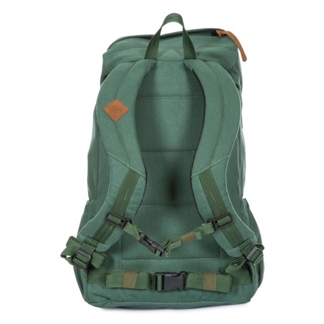 Trespass 30L Canvas Backpack in Olive Braeriach