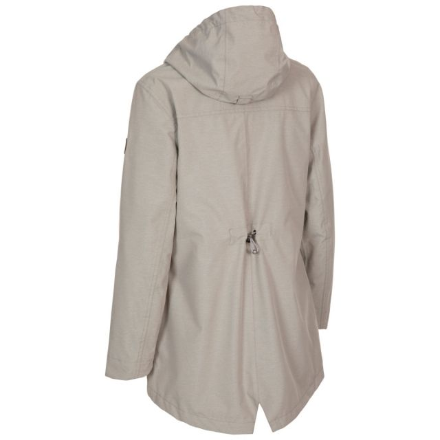 Trespass Women's Waterproof Shell Jacket Brampton Beige