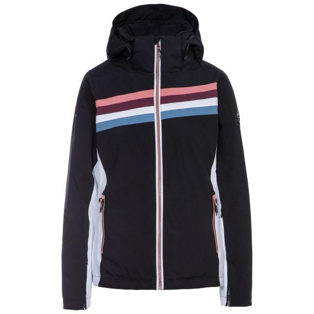 Broadcast Women's Waterproof Ski Jacket in Black