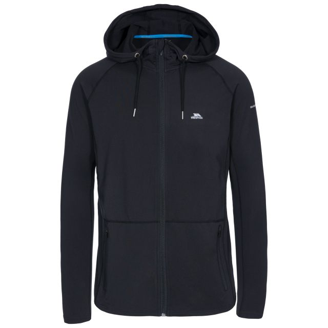 Bryden Men's Quick Dry Hoodie in Black