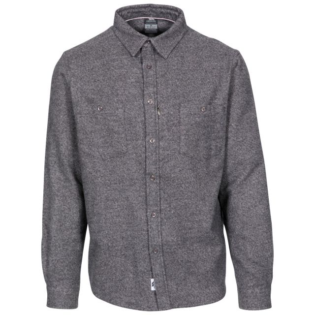 Buddworthwas Men's Cotton Long Sleeve Shirt
