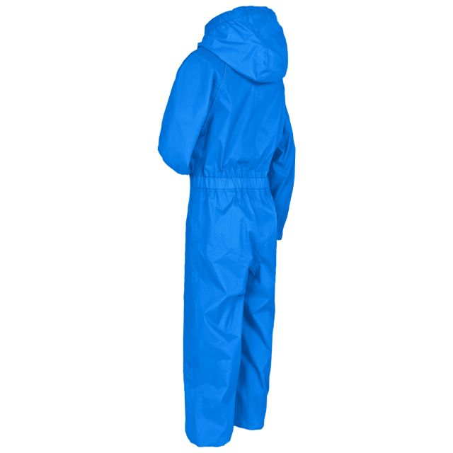 Button II Kids' Rain Suit in Blue