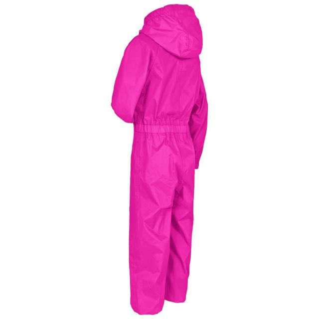 Button II Babies' Rain Suit in Pink