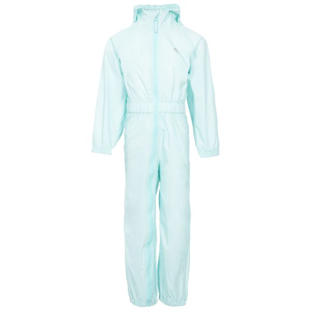Button Kids' Rain Suit in Light Green