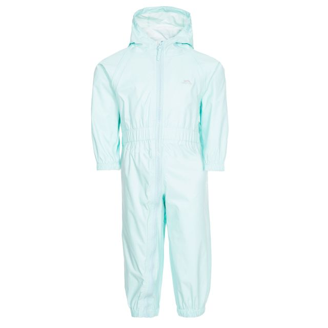 Button Babies' Rain Suit in Light Green