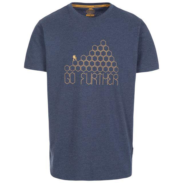 Buzzinley Men's Printed T-Shirt in Navy