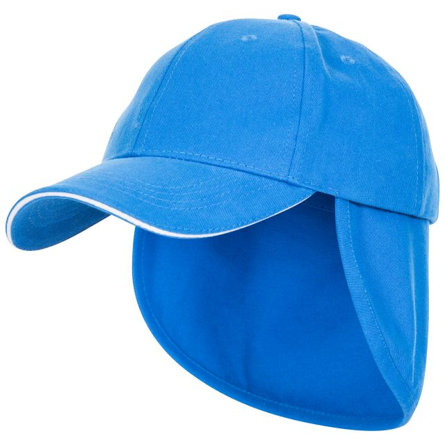 Cabello Kids' Neck Protecting Sun Hat, Side view of hat