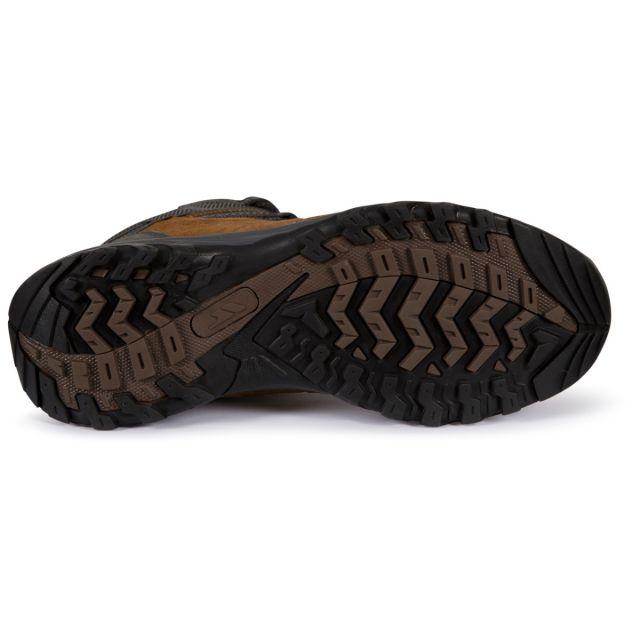 Trespass Mens Walking Boots Waterproof Breathable Caelan Green