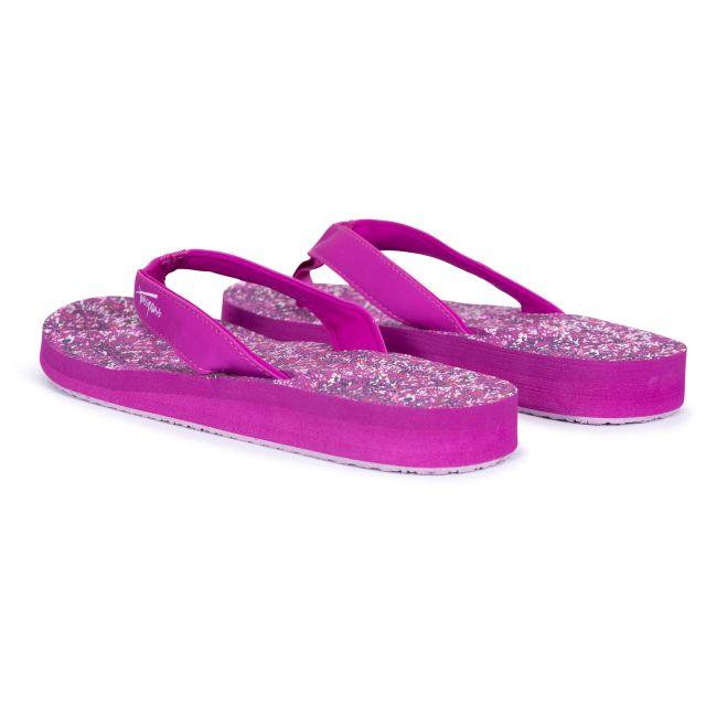 Caladesi Women's Summer Flip Flops in Purple