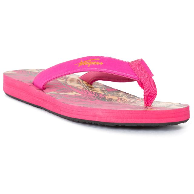 Caladesi Women's Summer Flip Flops in Pink