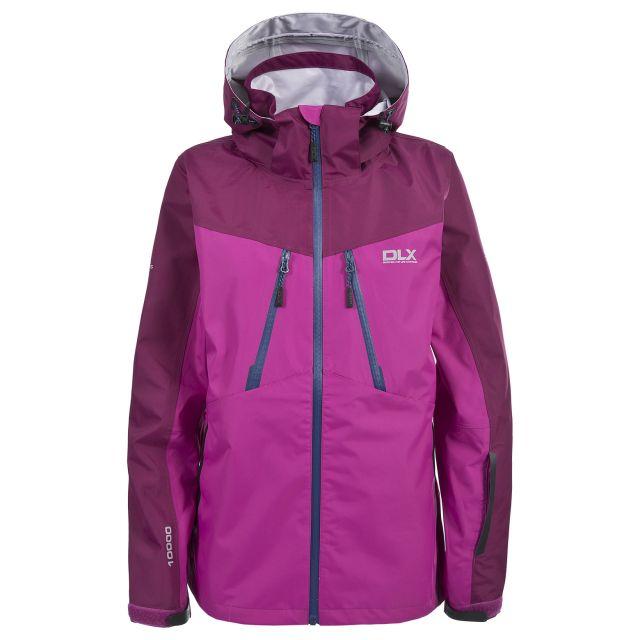 DLX Womens Waterproof Jacket with Hood Calissa Pink