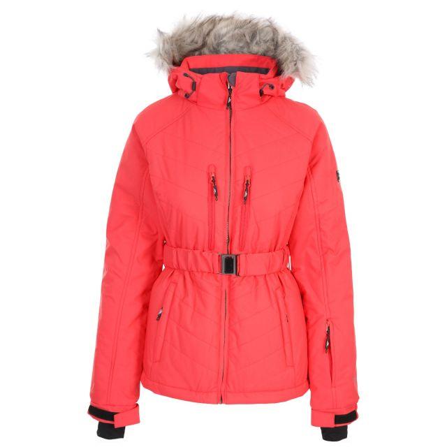 Camila Women's Waterproof Ski Jacket in Hibiscus