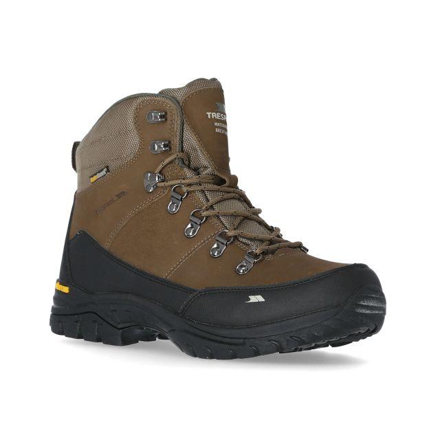 Carmack Men's Vibram Walking Boots in Brown