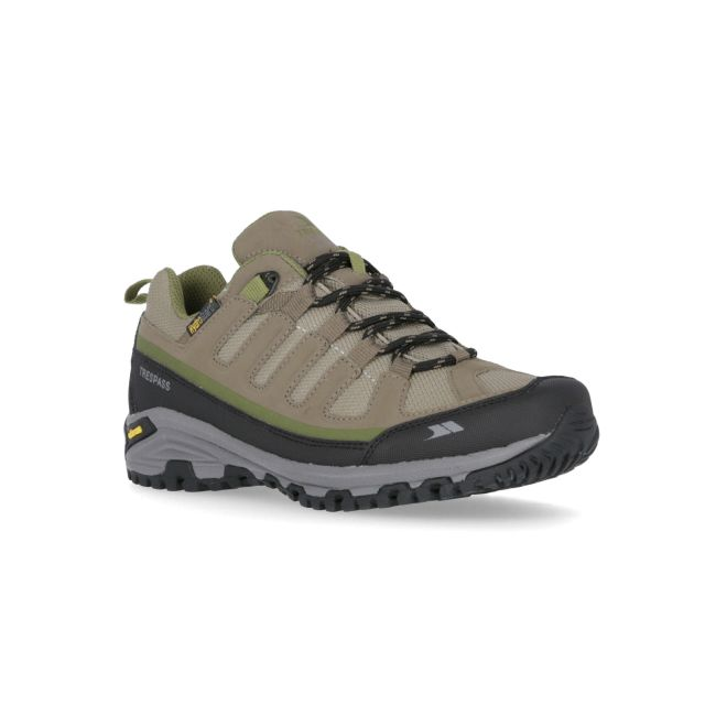 Carnegie Women's Waterproof Vibram Walking Trainers in Brown