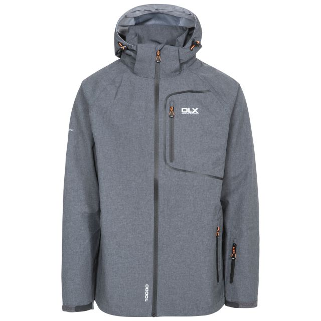 Caspar II Men's DLX Breathable Waterproof Jacket in Grey