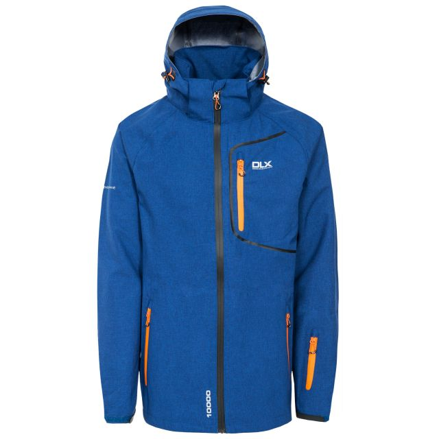 Caspar II Men's DLX Breathable Waterproof Jacket in Navy