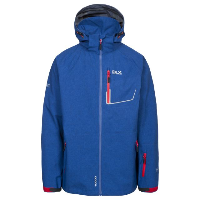 Caspar Men's DLX Waterproof Jacket in Navy