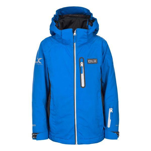 Castor Kids' DLX RECCO Ski Jacket in Blue